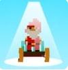 模拟滑雪快乐雪橇